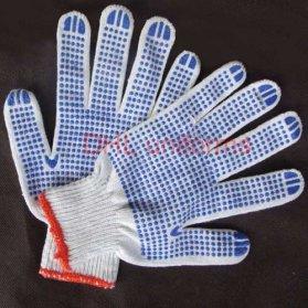 Găng tay nhựa hạt xanh