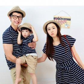 Đồng phục gia đình váy cho mẹ và bé 3