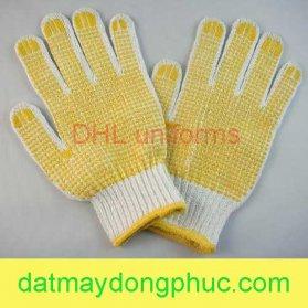 Găng tay bảo hộ hạt vàng